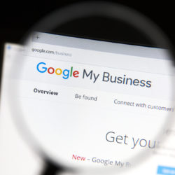 Google My Business For Apartments Web Page Under Microscope