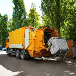 Valet Trash Service Cost Includes Emptying Dumpster of Residents Trash