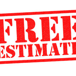 Featured Contractor Free Estimate Header In Red Block Text For Property Manager Insider
