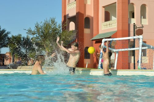 People Playing Water Polo For Apartment Complex Pool Safety Tips Blog