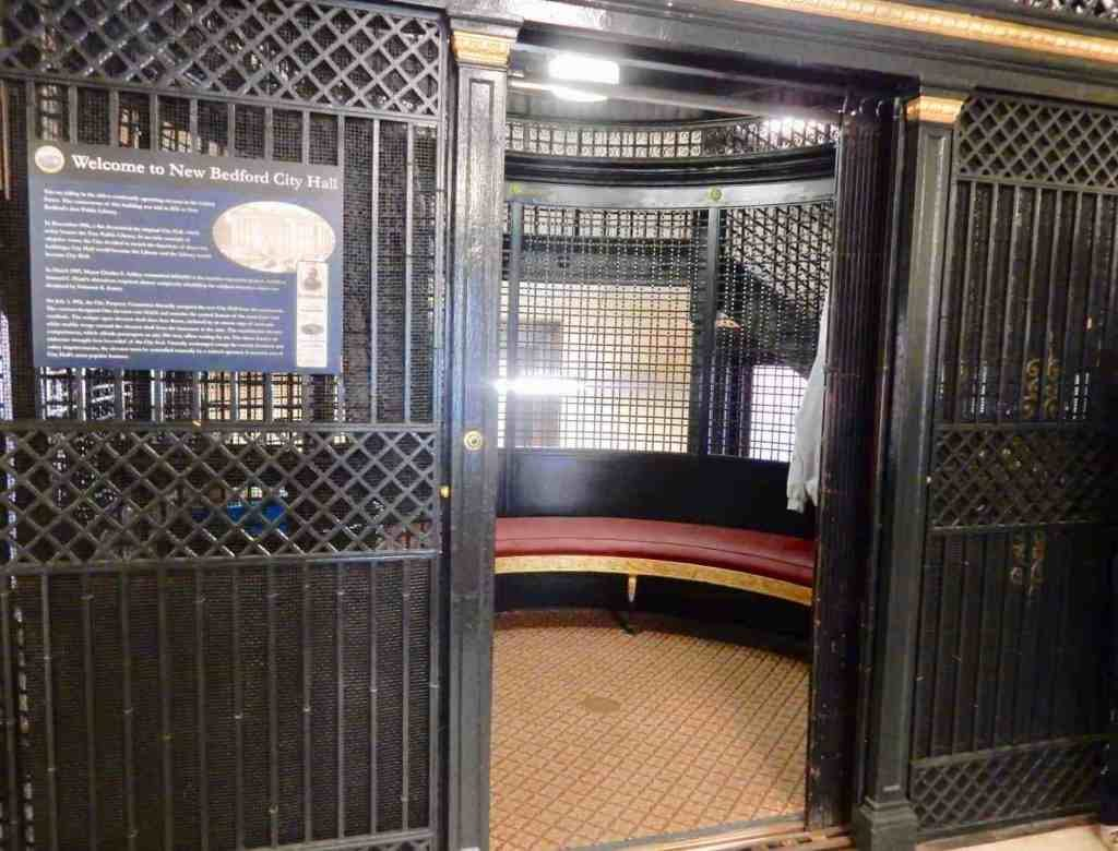 New Bedford MA City Hall Elevator Oldest In United States