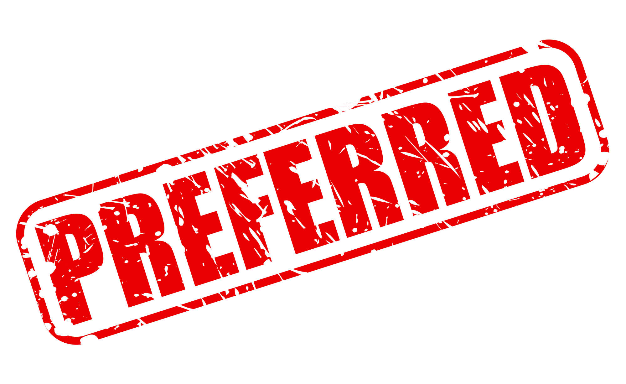 Preferred In Red Stamp For Advantages Of Building An Approved Vendor List Blog