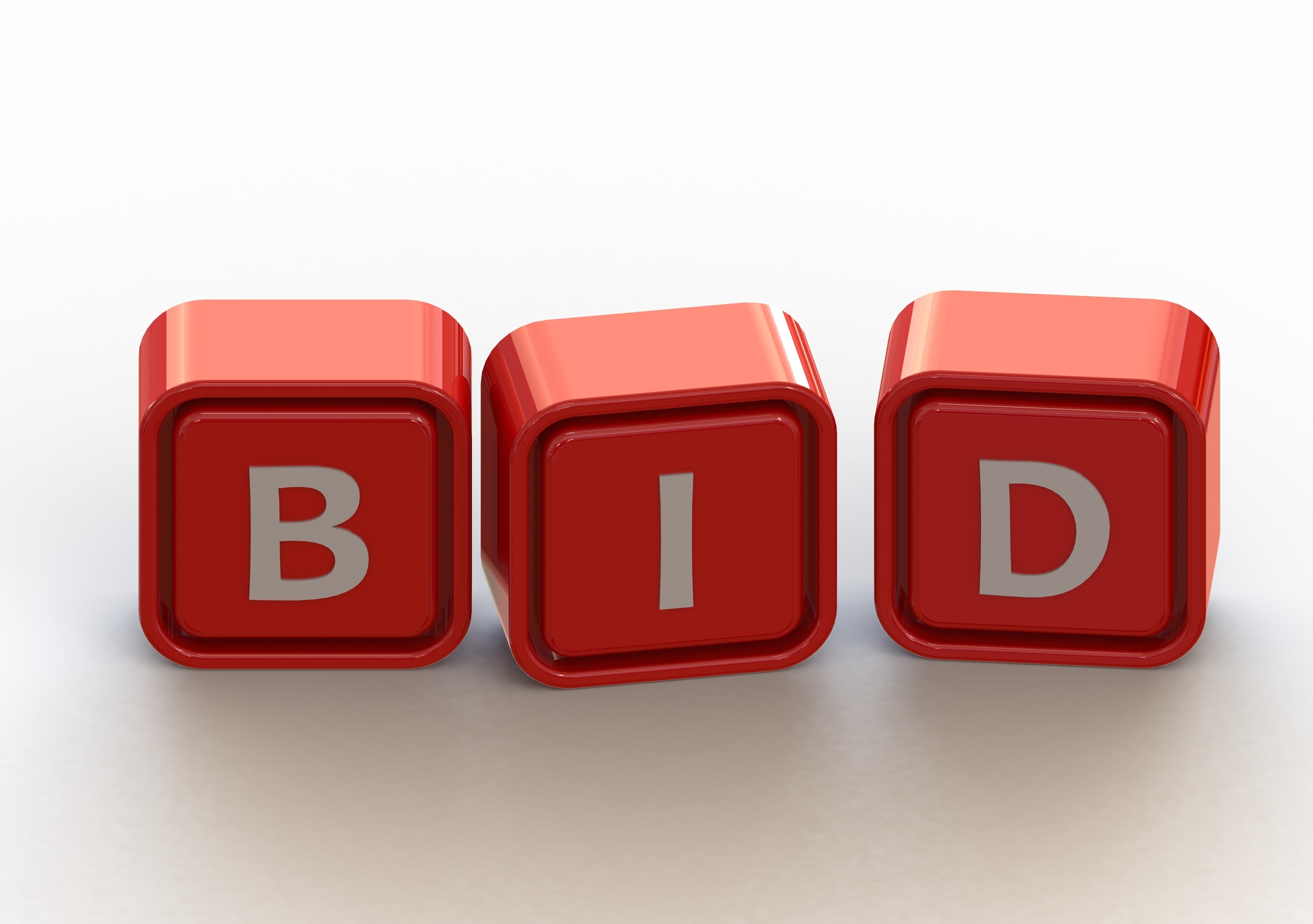 BID In White Letters On Red Blocks For Property Manager Insider Monthly Contractors Blog