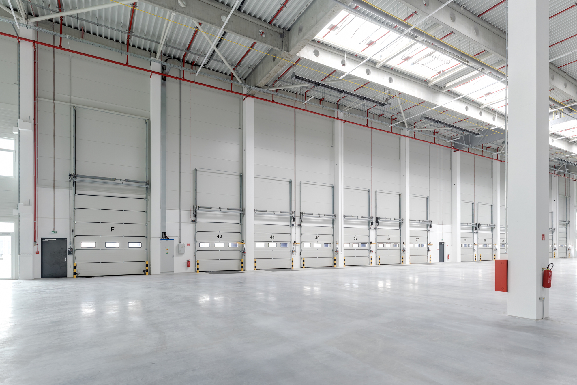 Warehouse With Commercial Floor Coating for Use Commercial Floor Coatings Blog
