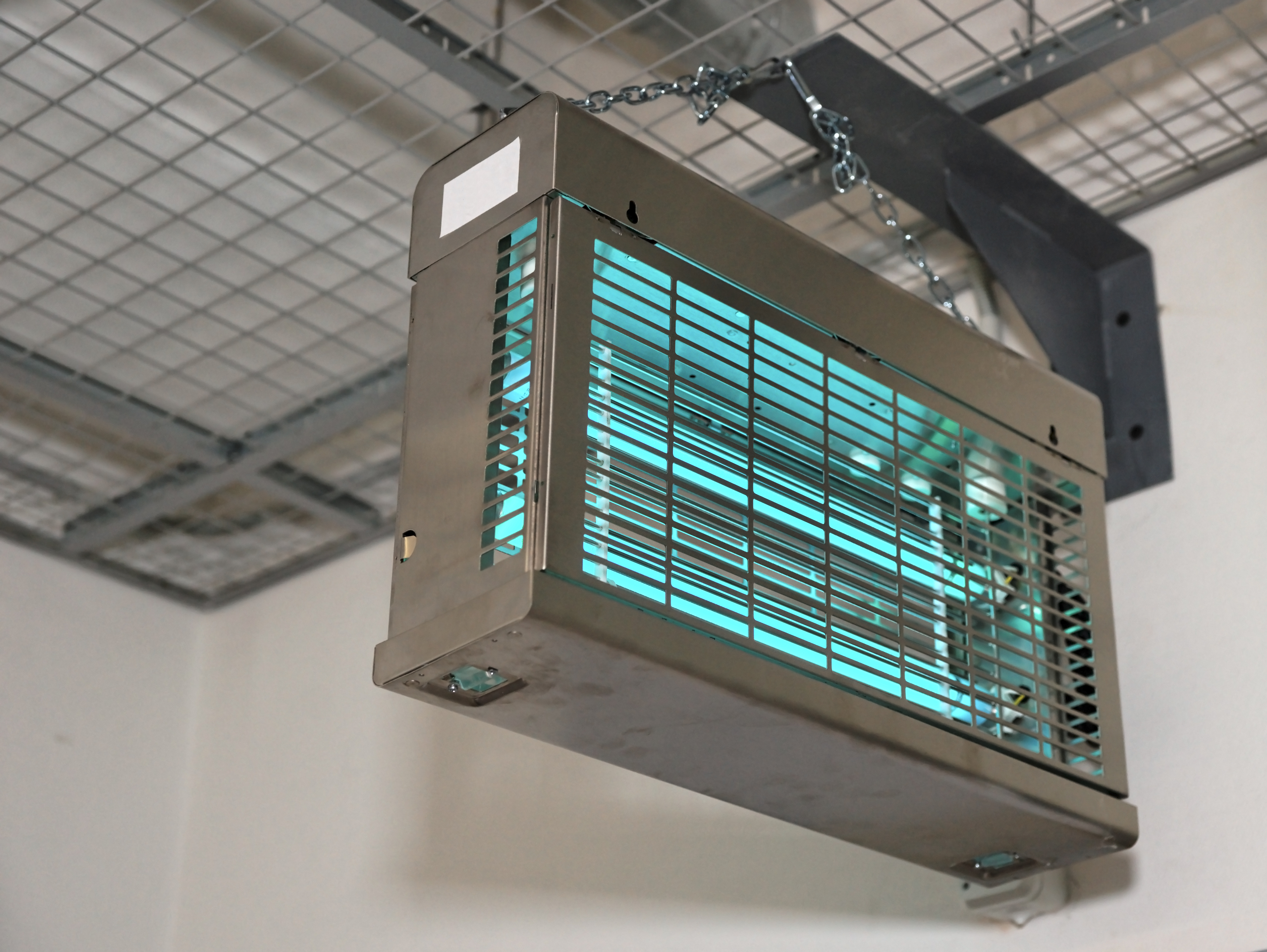 UV Lamp To Clean Air Is An Example Of Innovative UV Sanitizing Equipment For Commercial Buildings