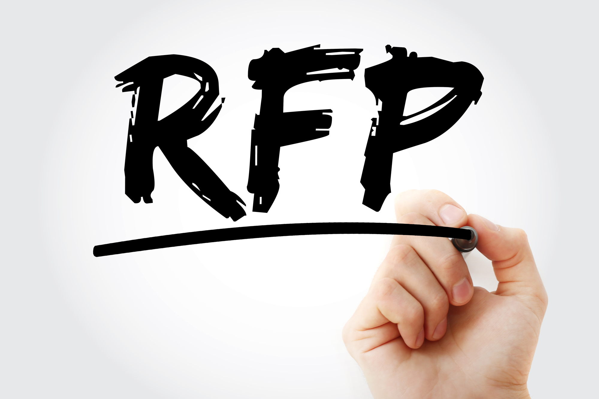 RFP In Black Marker WIth Drawing Hand For Property Manager Insider
