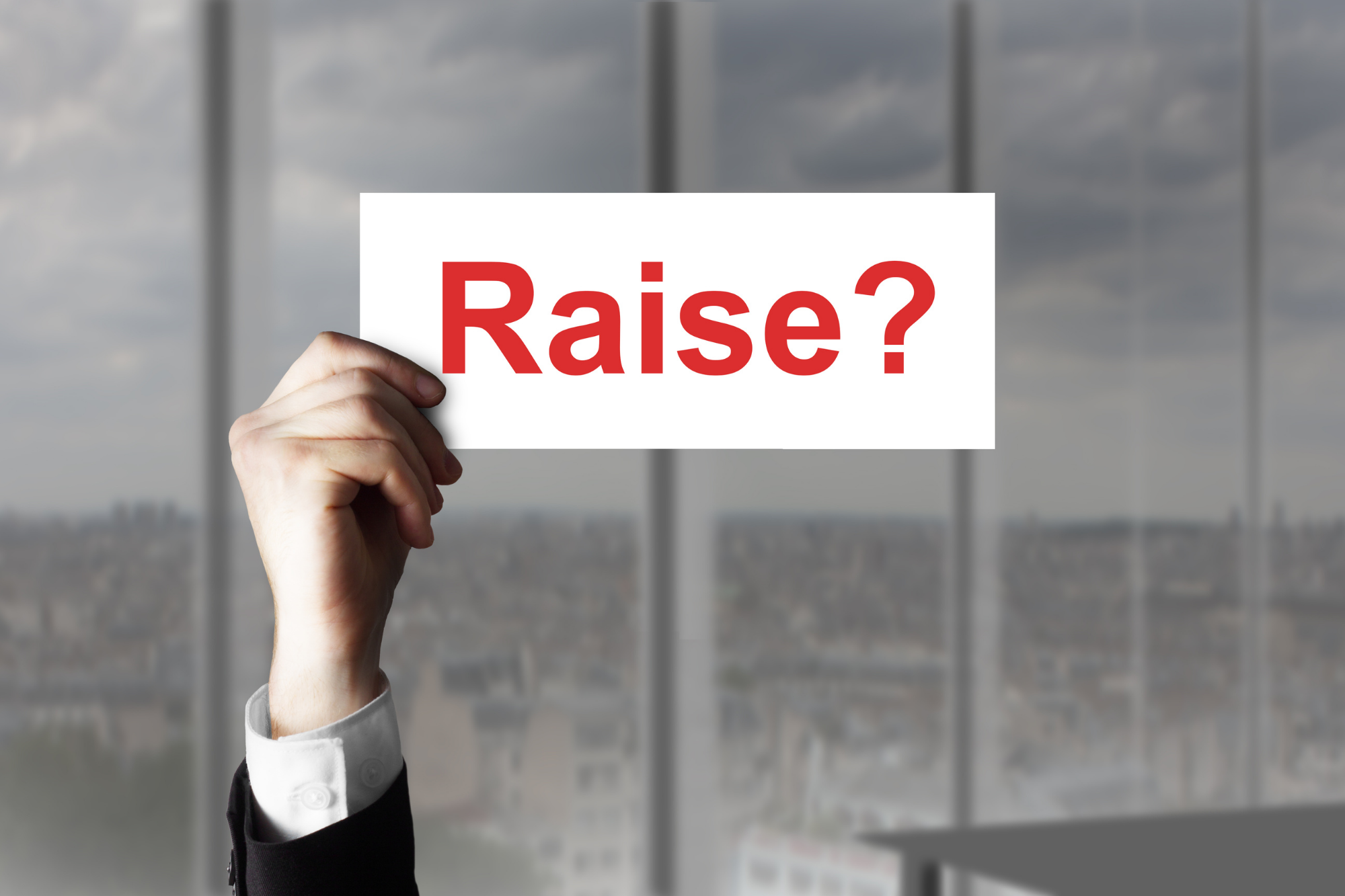 property managers ask for a raise